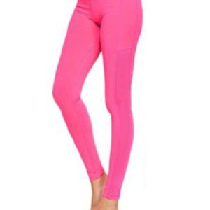 XSmall Pink leggings with hidden pocket
